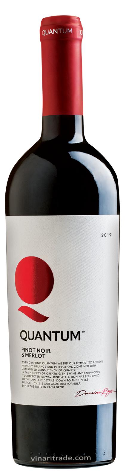 Червено Вино Квантум Пино Ноар х Мерло 0.75 л
