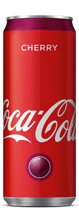 Кока Кола Чери 0.330 л Кен