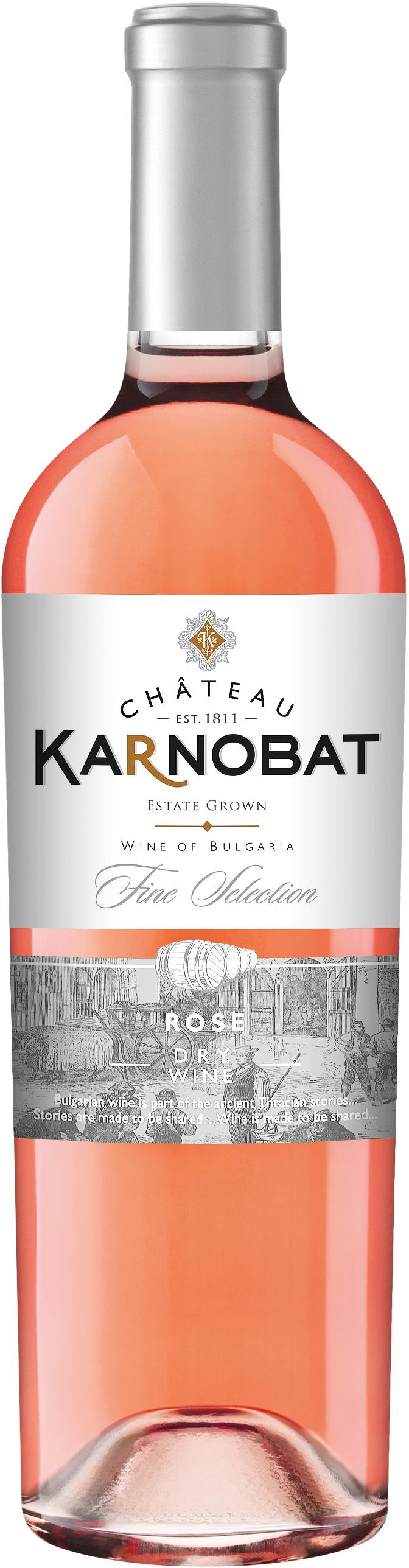Вино Шато Карнобат Розе 0.75 л