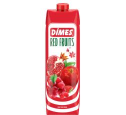 Сок Димес Червени Плодове 1 л