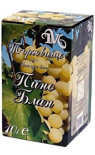 Бяло Вино Пино Блан Търговище 10 л