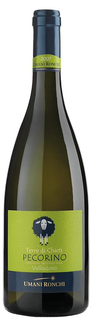 Бяло Вино Велодоро Пекорино Терре ди Киети IGT, Умани Ронки, Абруцо 0.75 л