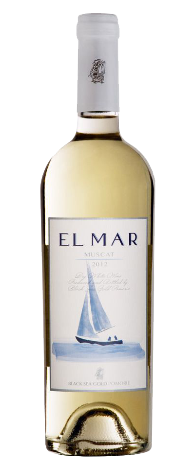 Бяло Вино Ел Мар Мускат Поморие 0.75 л