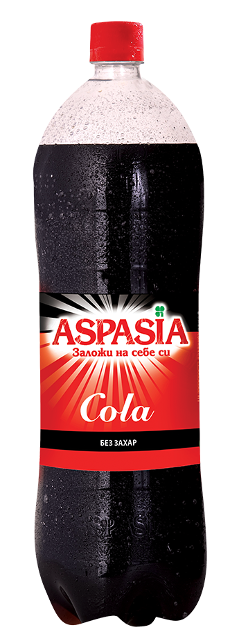 Газирана Безалкохолна Напитка Аспазия Кола 2 л