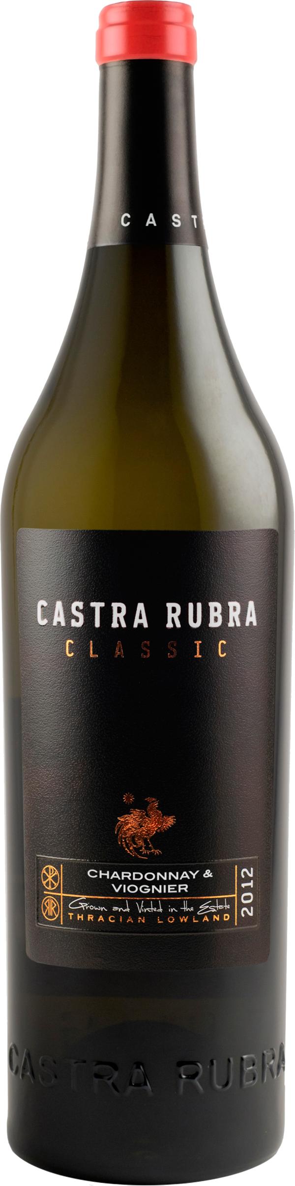 Бяло Вино Кастра Рубра Шардоне 0.375 л