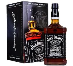 Уиски Джак Даниелс 3 л с Кутия