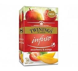 Чай Туинингс Ягода и Манго 20 бр в Кутия