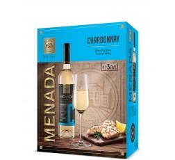 Бяло Вино Менада Шардоне 3 л