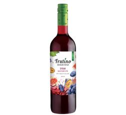 Червено Плодово Вино Фрутино Сира Синя Слива и Смокиня 0.75 л