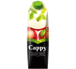 Натурален Сок Капи Ябълка 100% 1 л