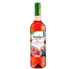 Плодово Вино Фрутино Розе с Ягода и Малина 0.75 л