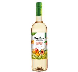 Бяло Плодово Вино Фрутино Шардоне с Праскова и Манго 0.75 л