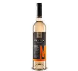 Бяло Вино Менада Мускат 0.75 л