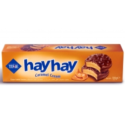 Бисквити Хай Хай 108 гр Карамел