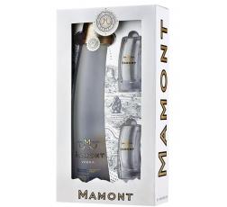 Водка Мамонт 0.7 л с 2 Чаши