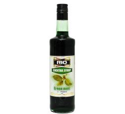 Рио Сироп Зелена Мента 0.7 л