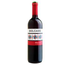 Червено Вино Болгаре Мерло 0.75 л