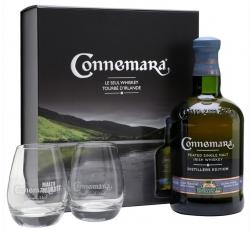 Уиски Конемара Едишън Сингъл Малц 0.7 с 2 Чаши