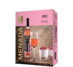 Вино Розе Менада 3 л