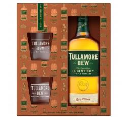 Уиски Тюламор Дю 0.7 л с 2 Чаши