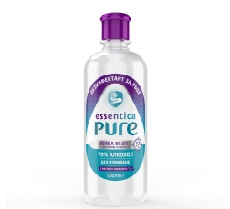 Дезинфектант за Ръце Essentica Pure 0.5 л