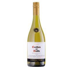 Бяло Вино Касиеро дел Диабло Шардоне 0.75 л