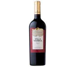 Червено Вино Вила Ямбол Мерло 0.75 л