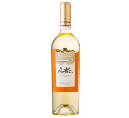 Бяло Вино Вила Ямбол Шардоне 0.75 л