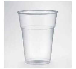 Пласмасови Чаши за Бира 400/500 мл 55 бр в Опаковка