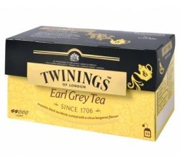 Чай Туинингс Ърл Грей 25 бр в Кутия
