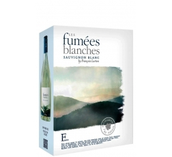 Бяло Вино Ле Фюме Бланш, Совиньон Блан, Франсоа Люртон 3 л
