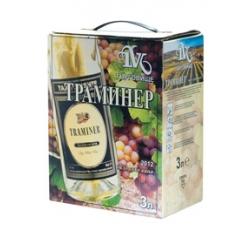 Бяло Вино Траминер Търговище 3 л