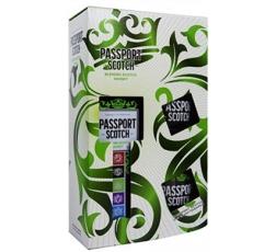 Уиски Паспорт 0.7 л с Две Чаши