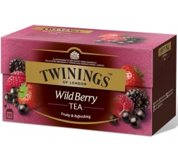 Чай Туинингс Диви Плодове 20 бр в Кутия